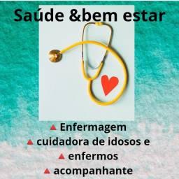 Título do anúncio: Enfermagem e cuidadora