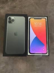 Iphone 11 Pro Max 256 verde Impecável