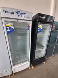 Título do anúncio: Freezer expositor congelados porta de vidro 565 litros 2 anos de garantia