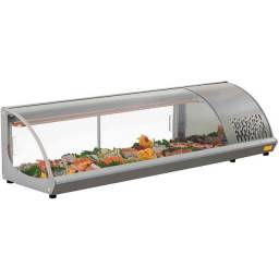 Título do anúncio: Vitrine de Sushi Gelopar Sushi 220v (usado)