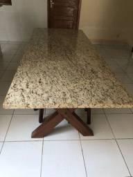 Título do anúncio: Vende-se mesa de pedra