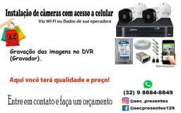 Título do anúncio: Sistema de Câmeras Residencial
