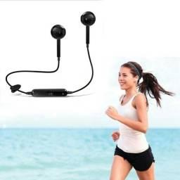 S6 Fone De Ouvido Bluetooth New Stereo Sem Fio Música Fone De Ouvido Bluetooth