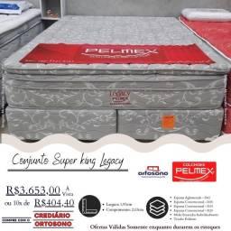 Título do anúncio: FEIRÃO CAMA BOX APROVEITE
