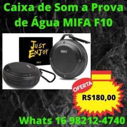 Título do anúncio: Caixa de Som a Prova de Água Bluetooth - Mifa F10