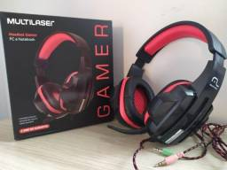 Headset Fone Pc Gamer P2 Stereo Multilaser Ph120