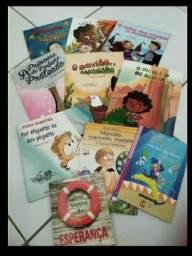 Kit livros infantis + livro de inglês infantil+ livro de auto ajuda