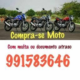 Título do anúncio: Compra se motos