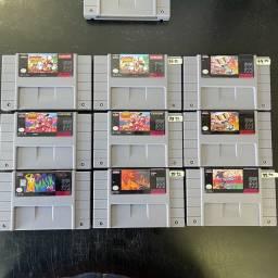 Fitas Paralelas novas Super Nintendo