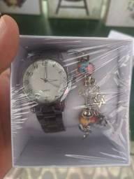 Relógio feminino c/ pulseira