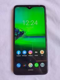 Vendo celular moto g8 play 900 reais