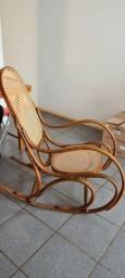 Título do anúncio: Cadeira balanço Austríaca Thonet Palhinha