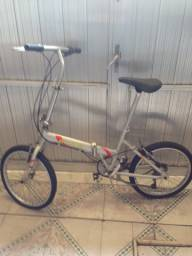 Bicicleta dobrável alumínio