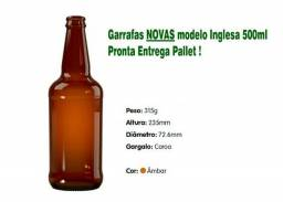 Garrafas para Cerveja Novas Modelo inglesa/artensal 500ml