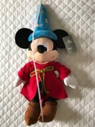 Pelúcia Mickey Feiticeiro Original Disney Store 60 cm