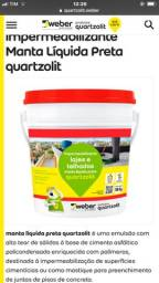 Manta líquida quartzolit 18kg / chapix / neutrol / bianco/ vedaciti