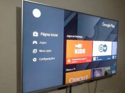 Smart tv 55 sony ( android e comando de voz ) top de linha
