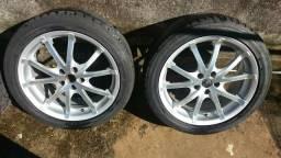 Vendo rodas TSW aro 17 5 furos