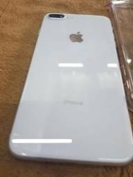 Iphone 8 Plus 256gb Branco Perola 5.5 Apple A1897 Impecável!