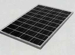 Painel Solar Fotovoltaico Kyocera Modelo Kc80
