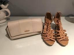 Bolsa e sandália Arezzo