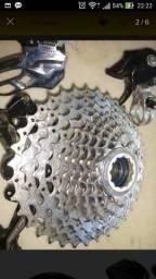 Cassete Shimano Mountain Bike Deore XT CS M771 10V