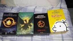 Livros e boxes variados em perfeito estado
