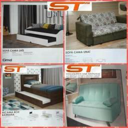 Sofá cama r$ 450