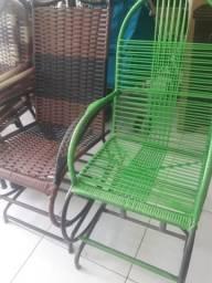 Cadeiras de balanço novas