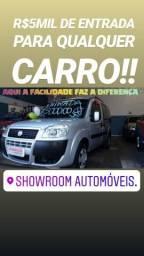 A hora é agora!! doblo essence 2017 7lugares(showroom automóveis) - 2017