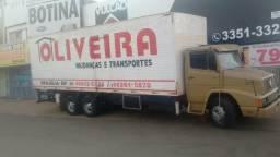 Transportes Oliveira fretes e mudanças local e interestadual aceitamos cartões