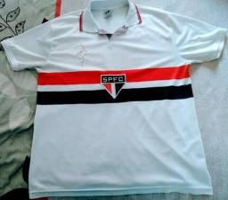 5a1f029ac8 Camisa SPFC licenciada Raí tamanho G