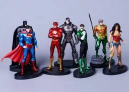 Action Figures Liga da Justiça 7 peças