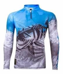 Camiseta Tucunaré azul