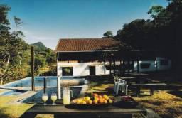 Sítio com 7 suítes à venda, 25000 m² por r$ 600.000 - rio bonito de lumiar - nova friburgo