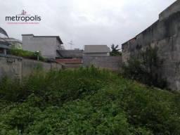 Terreno residencial à venda, Cerâmica, São Caetano do Sul.