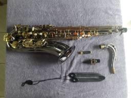 Saxofone Tenor Eagle Black Ônix ST 503