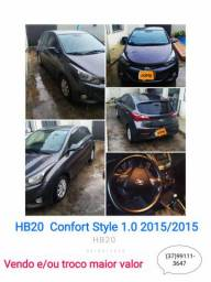 HB20 Confort Style 1.0 2015/2015 - 2015