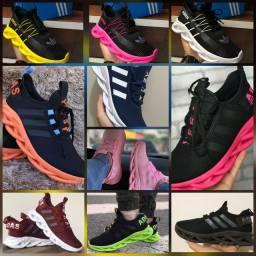 Tênis Adidas e fila qualidade e confortáveis
