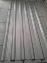 02 telhas  galvanizadas