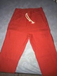 Calça Jogger vermelha
