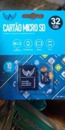 Cartão micro SD 32 GB