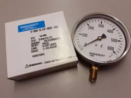 Manometro hidraulico 600 bar
