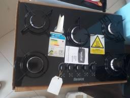 Cooktop NOVO 5 e 4 bocas