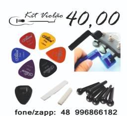 Kits comp para violão_melhor preço-role as fotos(whatsapp resposta imediata)