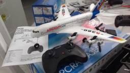 Mini aviao BONG controle remoto para crianças
