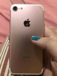 IPhone 7 32 gb rose (troco por 7 plus e parcelo)