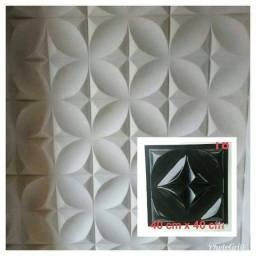 Novo: Forma de Gesso e Cimento 3D 100% ABS Cristal - 40x40