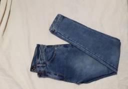 Calça jeans masculina skinny tamanho 40
