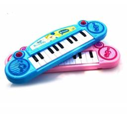 Teclado Musical Rosa Infantil